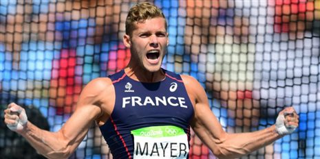 Kevin Mayer, vice champion olympique