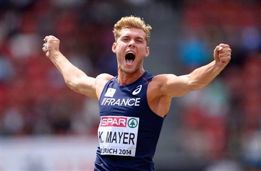 Kevin MAYER devient vice-champion d'Europe du Décathlon